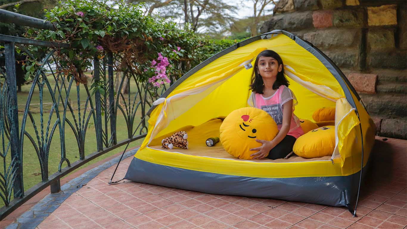 indoor camping at lake naivasha snuggly toy